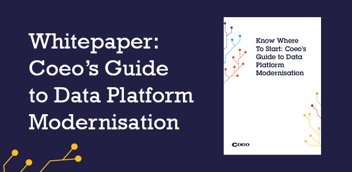 Data platform modernisation whitepaper